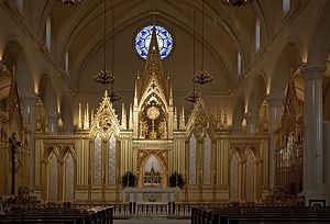 English: Shrine of the Most Blessed Sacrament ...
