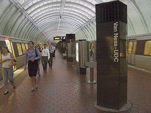 Van Ness – UDC (WMATA station)