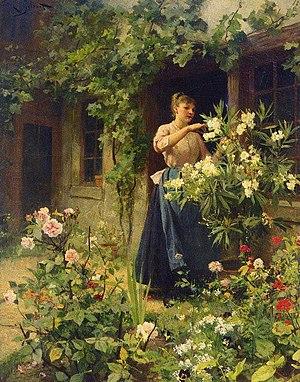 Victor Gabriel Gilbert: Gardening