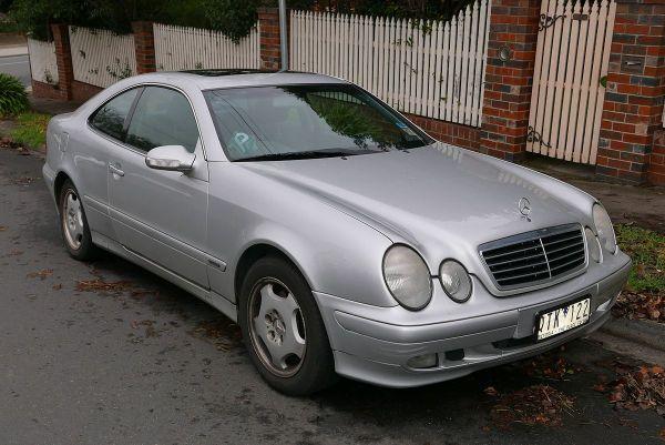 MercedesBenz CLKClass Vikipediya