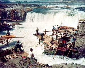 Celilo Falls fishery