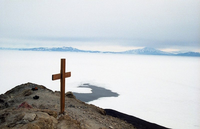 Cross on Observation Hill, McMurdo Station
