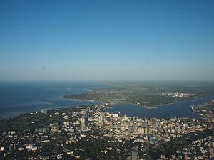 Dar es Salaam aerial