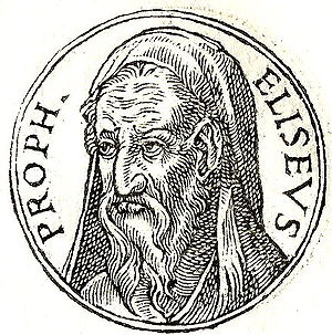 English: Eliseus is a prophet of the Hebrew bible.