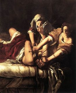 Judith köpft Holofernes (1614-1620) von Artemisa Gentileschi (Quelle: Wikipedia public domain)