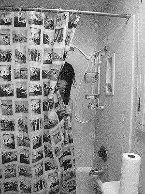 Girl in shower