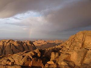 """Mount Sinai (""""Gabal Musa"""")"""