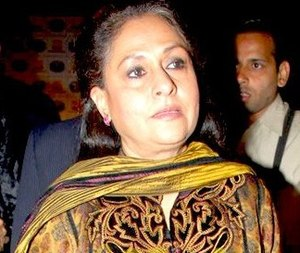 Former Bollywood actress Jaya Bachchan