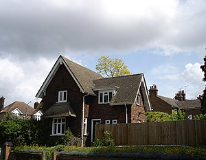 English: Lodge House, Alexandra Park