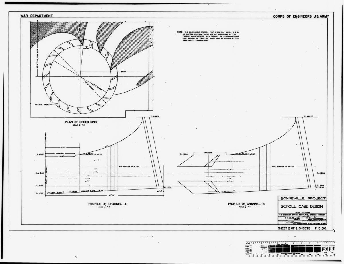 File Photocopy Of Original Construction Drawing Dated 15