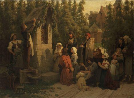 File:Prière avant la récolte par Félix de Vigne.jpg