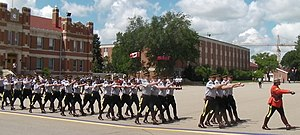 Royal Canadian Mounted Police cadets at the RC...