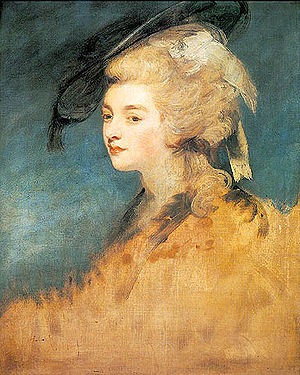 Portrait of Georgiana Spencer, Duchess of Devo...