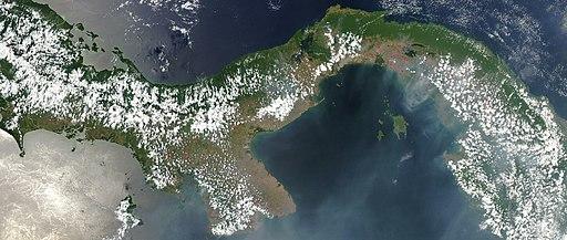 La formación del Istmo de Panamá fue una de las principales características geológicas del Plioceno