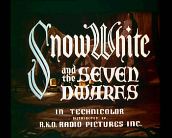 Snow white 1937 trailer screenshot