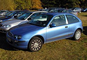2002 Rover 25.