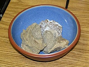 English: Real ambergris from a whale.