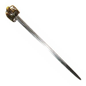 English: Claymore sword
