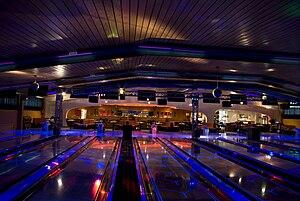 Deutsch: Cosmic Bowling in Norderstedt