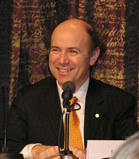 Frank Wilczek at Nobel press conference in Sto...