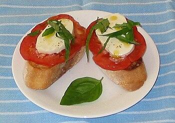 Fresh Mozzarella Bread