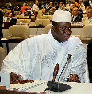 President of The Gambia Yahya Jammeh