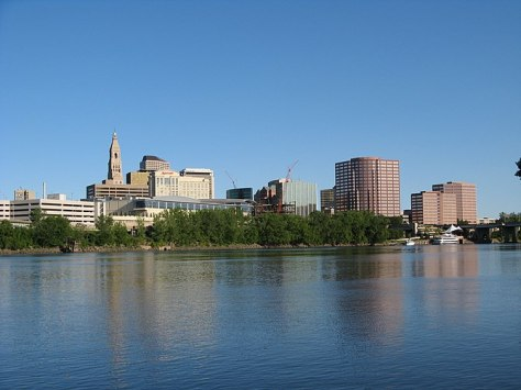 English: The skyline of Hartford, Connecticut,...