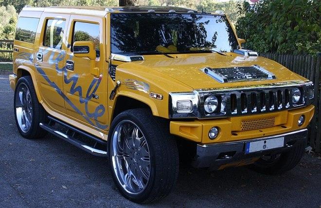 File:Hummer SUV gelb.JPG