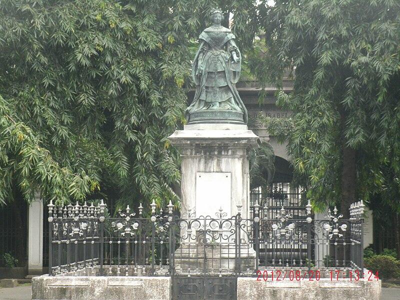 File:Isabella II of Spain in Intramuros, Manila.jpg