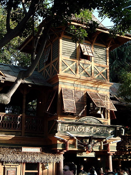 File:Jungle Cruise Entrance Sunset.JPG
