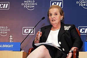 Madeleine Albright, World Economic Forum India...