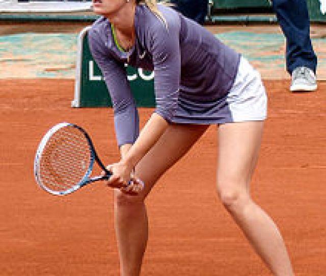 Sharapova At The French Open May 2013