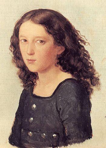 Mendelssohn aged 12 (1821) by Carl Joseph Begas