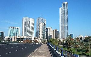 Diamond Exchange District, with the Moshe Aviv...