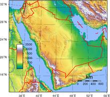 جغرافيا السعودية ويكيبيديا