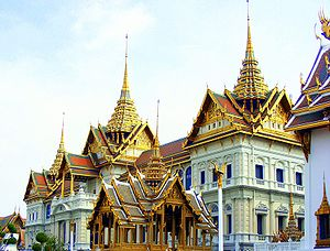 The Grand Palace of Thailand Location: Bangkok...
