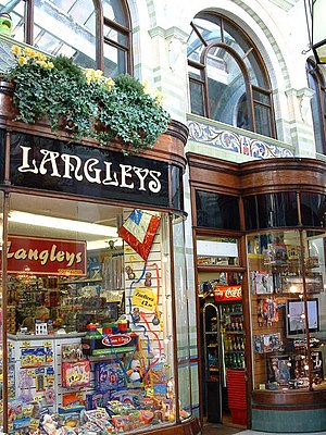 English: Toy shop Langleys toy shop one of the...
