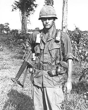 1st LT Thomas K. Holland, D Trp., 1st Sqdn., 9...