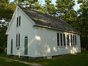 """English: """"Division 9"""" schoolhouse in..."""