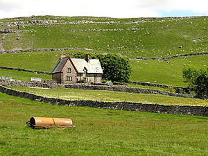 English: A Yorkshire Dales' farm