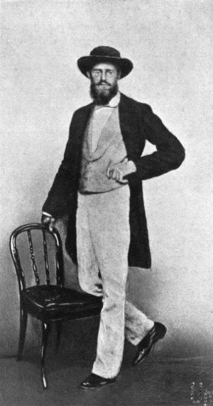 English: Photograph of Alfred Russel Wallace, ...