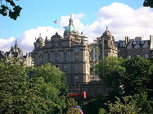 Headquarters at North Bank Street, Edinburgh (...