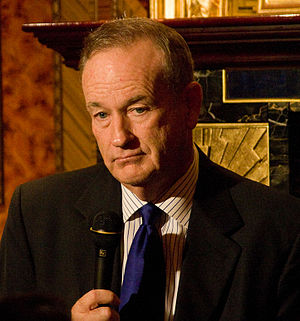 English: Bill O'Reilly at a Hudson Union Socie...