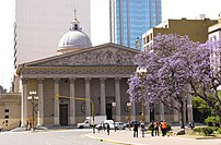 Façade of Buenos Aires Cathedral