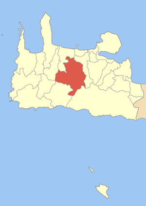 χάρτης Δήμου Μουσούρων