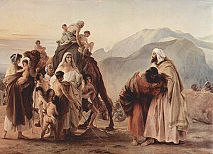 Meeting of Jacob and Esau (1844) Pinacoteca To...