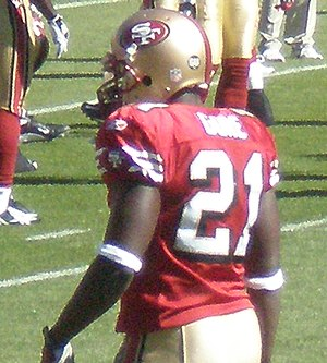 San Francisco 49ers running back Frank Gore wa...
