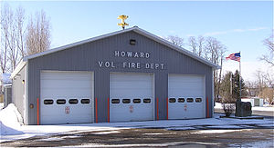 English: Howard Volunteer Fire Department; How...