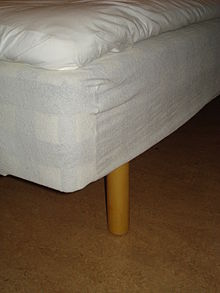 A Mattress Protector With Elastic On Top Of Bed Base
