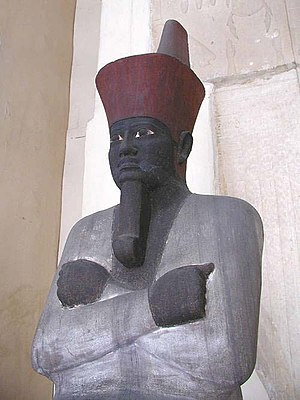 Seated statue of Nebhepetre Mentuhotep II, in ...